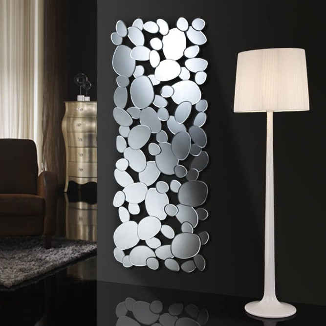 Espejo petra rectangular tienda de art culos de decoraci n espejos - Decoracion relojes de pared ...